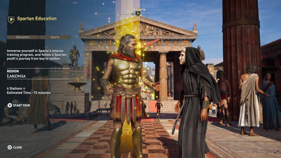 《发现之旅:古希腊》:游戏与?#36867;?#30340;可能性
