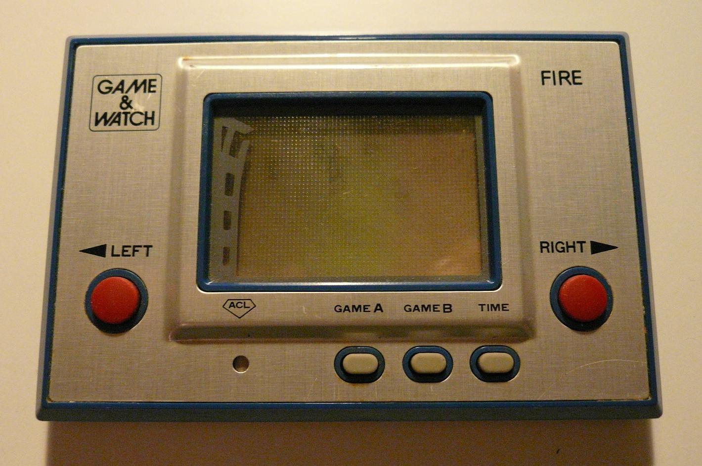 前掌機時代:計算器、游戲手表和Game & Watch